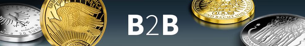 B2B Angebote für Münzsammler