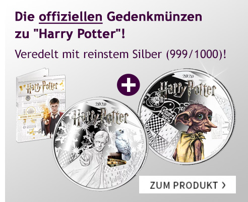 Harry Potter Gedenkmünzen