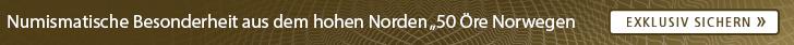 50 Öre Norwegen Fehlpraegung