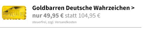 Goldbarren-Kollektion Deutsche Wahrzeichen