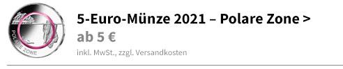 5 Euro Polare Zone 2021