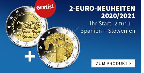 2 Euro Neuheiten