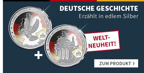 75 Jahre Deutschland Gedenkprägungen