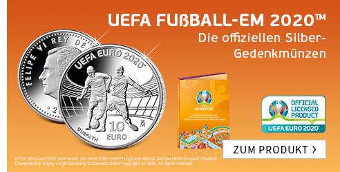 UEFA Silbermünzen
