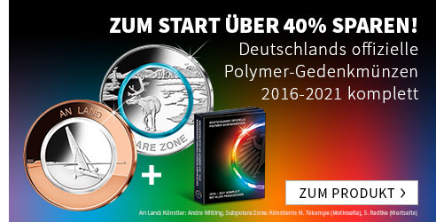 Deutschlands Polymermünzen